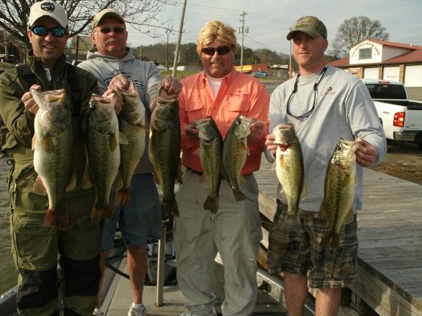 Lake martin spring fishing report fishing alabama reed for Alabama bass fishing reports