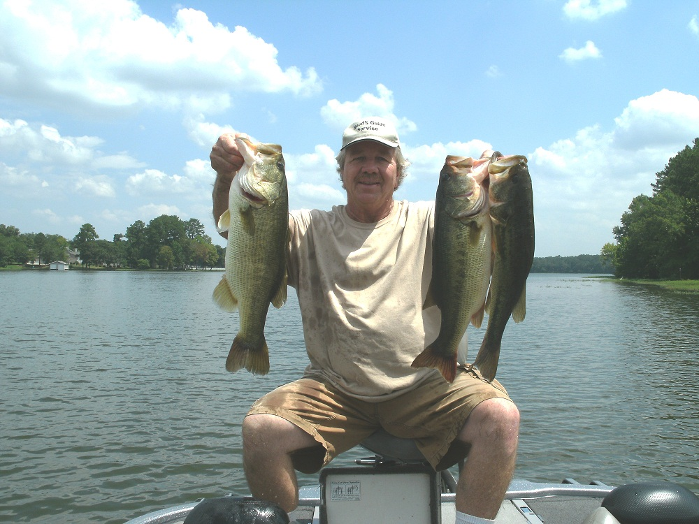 Lay lake for big late summer largemouth bass spotted for Lay lake fishing report