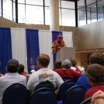 Duckett speaking
