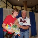 winner at kids fishing show