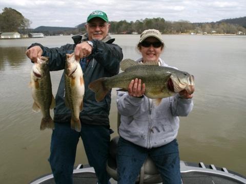 Wintertime Bass Fishing Tips For Alabama S Lakes Fishing