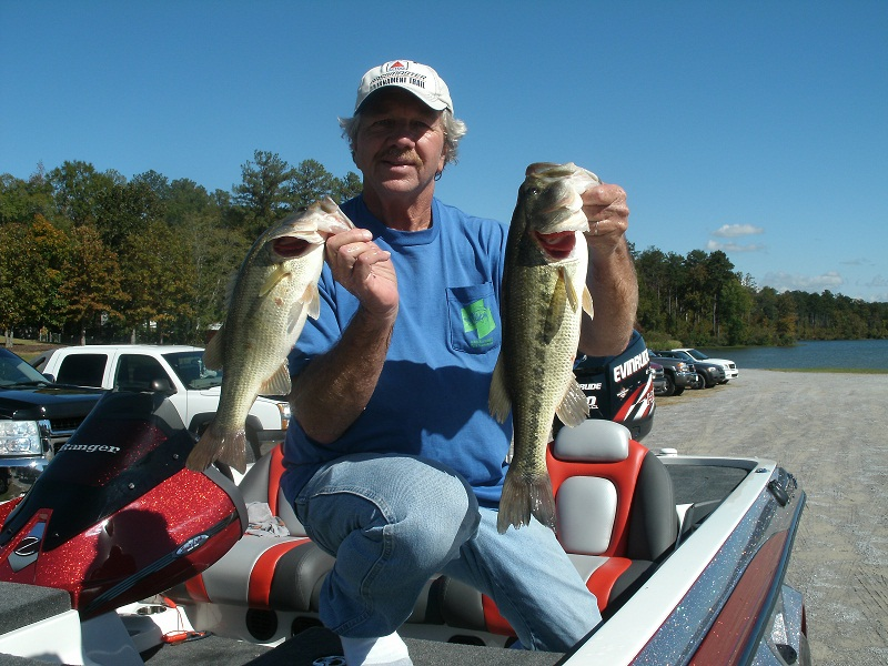 Reed with Fish on New Boat