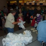 Kids in Line for Goodie Bags 2
