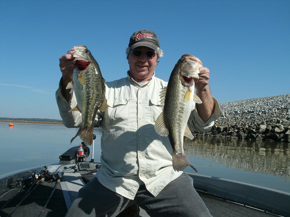 Lay lake in late winter for big bass by reed montgomery for Lake eufaula alabama fishing report