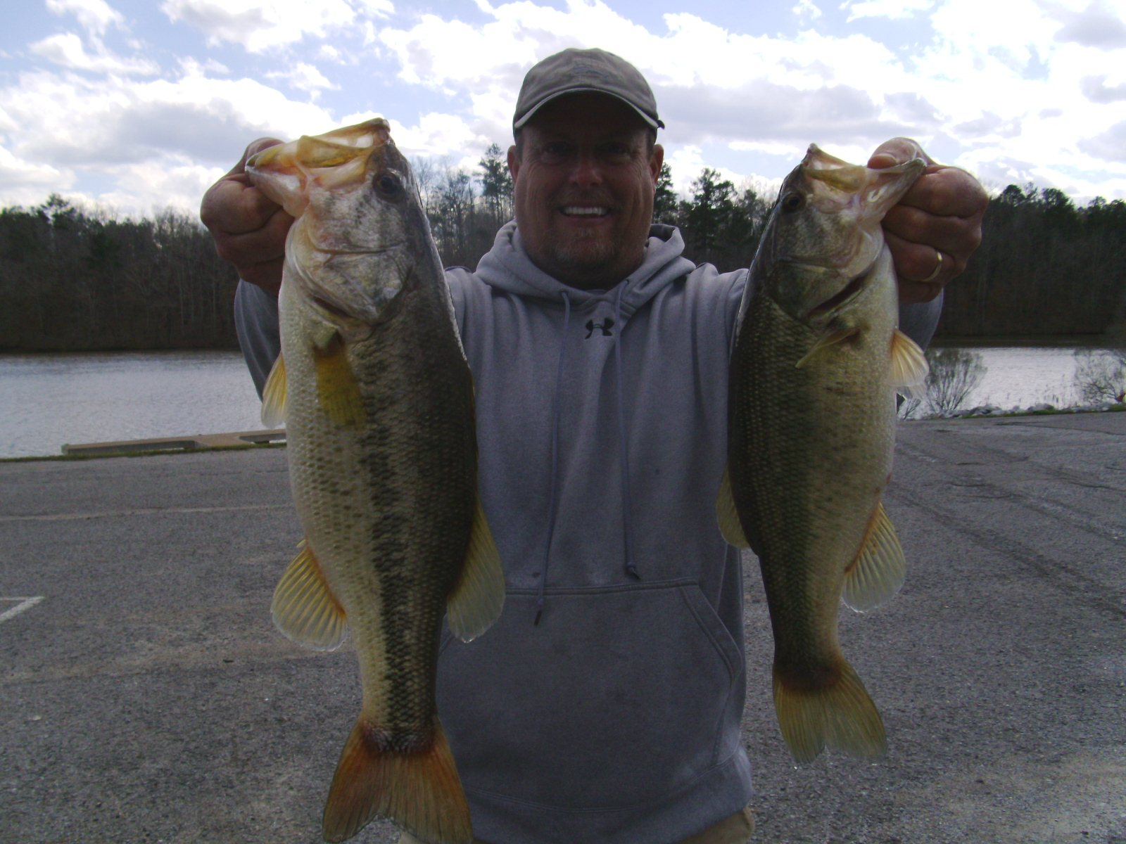 Springtime bass fishing alabama s lay lake in march april for Lay lake fishing report