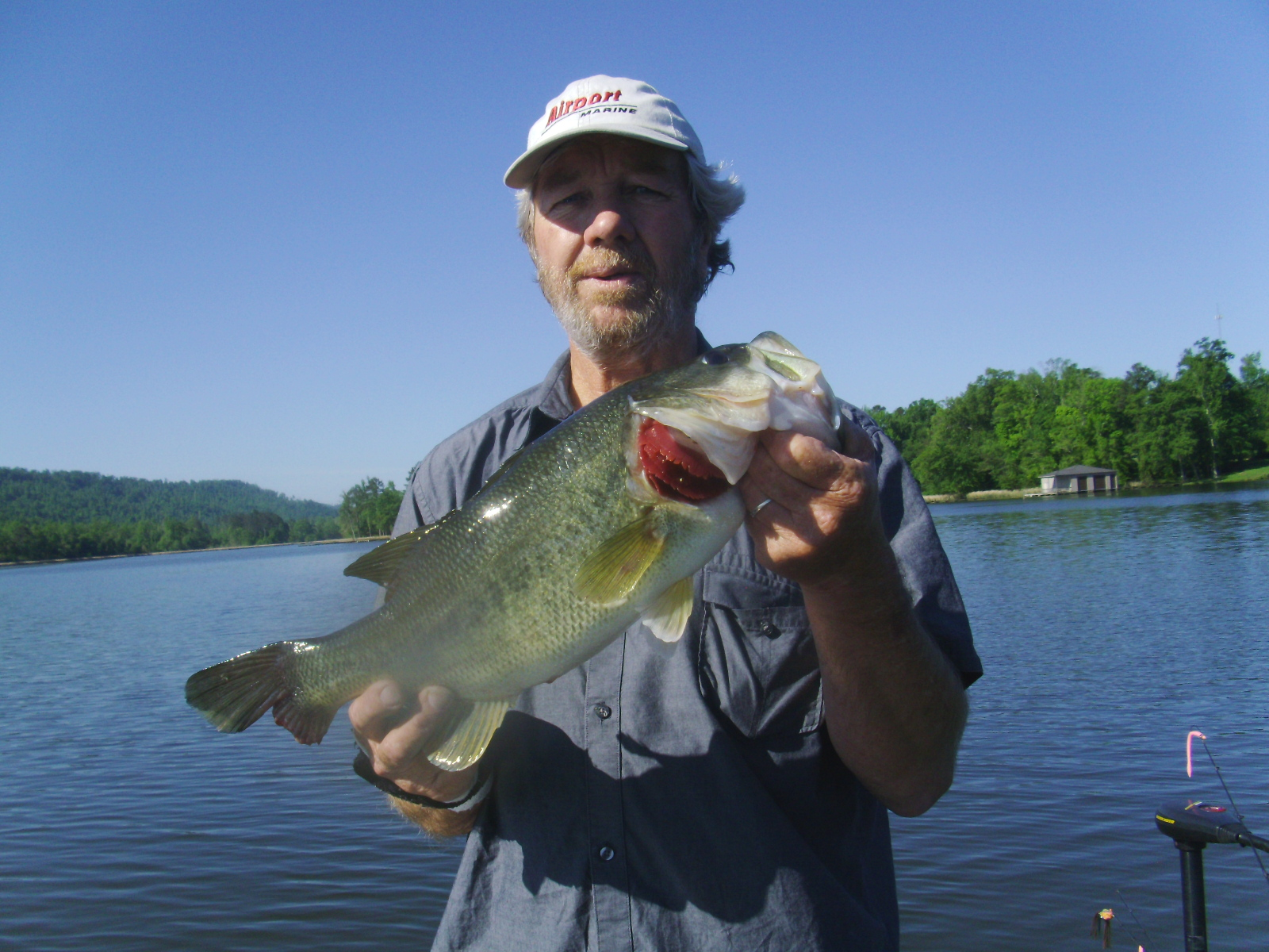 Springtime Bass Fishing in March, April and May on Alabama's