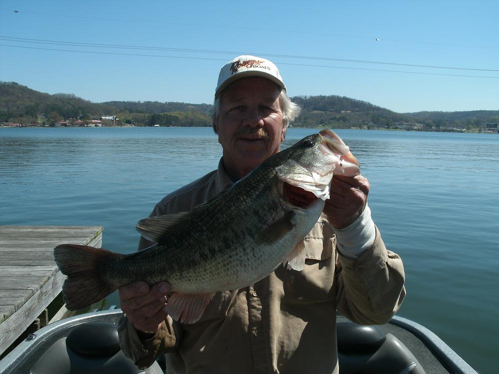Springtime Bass Fishing in March, April and May for Big Bass