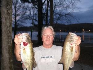 A great lake for night fishing this summer season is always, Guntersville lake for big, largemouth bass!